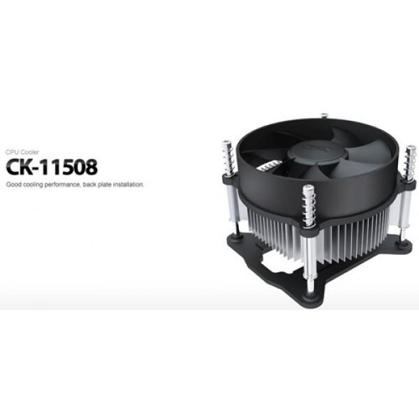 მაგრილებელი CK-11508, Deepcool, CPU Cooler 65w, 1156,1155. 25dB(A)