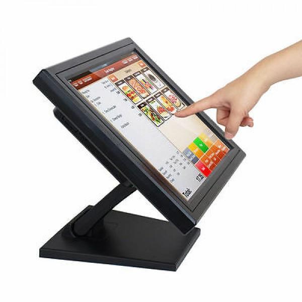 სენსორული ეკრანი/Touch Screen Monitor••(MPOS-15T)/Black ,15