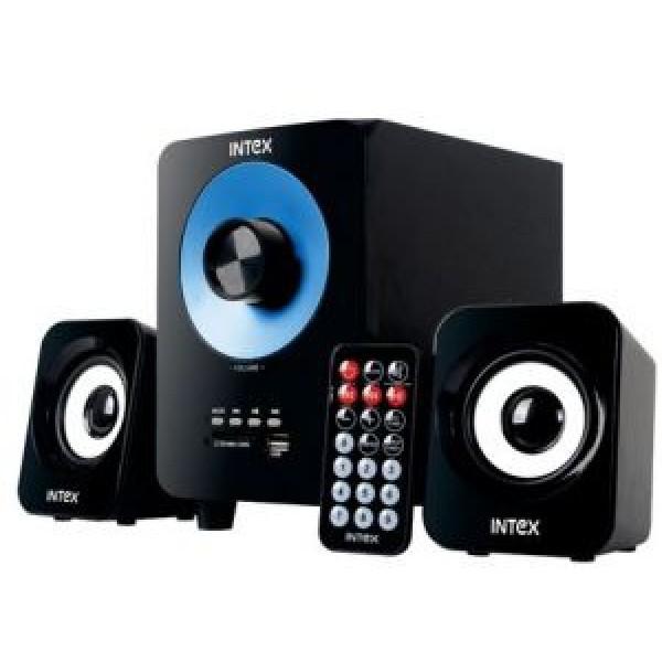 SPEAKER - INTEX 2.1 Subwoofer 303 SUF USB/SD/FM/REMOTE/BT - IT- 303 SUF BT