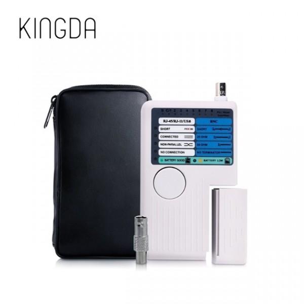 ხელსაწყო KD-CT009, KINGDA, 4 in 1 Cable Tester With RJ45/RJ12/RJ11/BNC/USB port