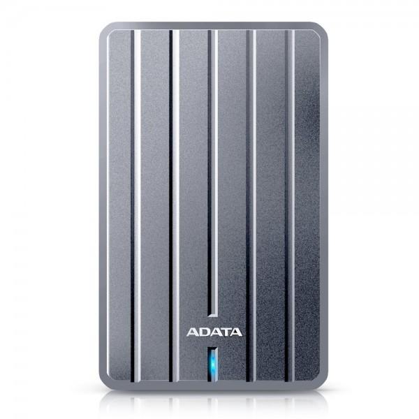 ADATA 2TB USB3.0 Portable Hard Drive HC660 External Hard Drive 2.5 SATA HDD, Titanium