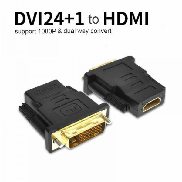FEF-HD-003, Kingda, DVI(24 1)male to HDMI female adaptor