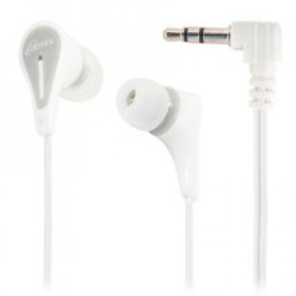 Hoco M47 Canorous wire control earphones with microphone white