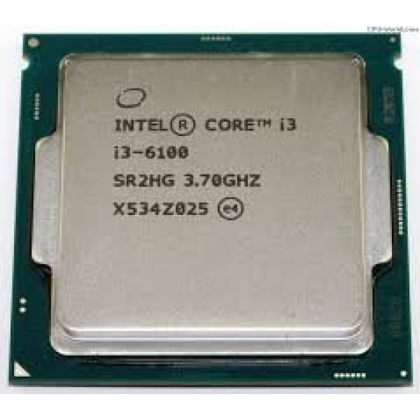 i3-6100 Skylake Dual-Core 3.7 GHz L3 Cache 3 MB, Memory DDR4 / DDR3L,  Intel® HD Graphics 530, 65 W