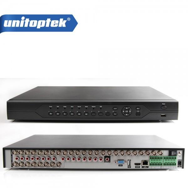 ჩამწერი 32CH 1080N 5-IN-1 AHD DVR PAL , EU