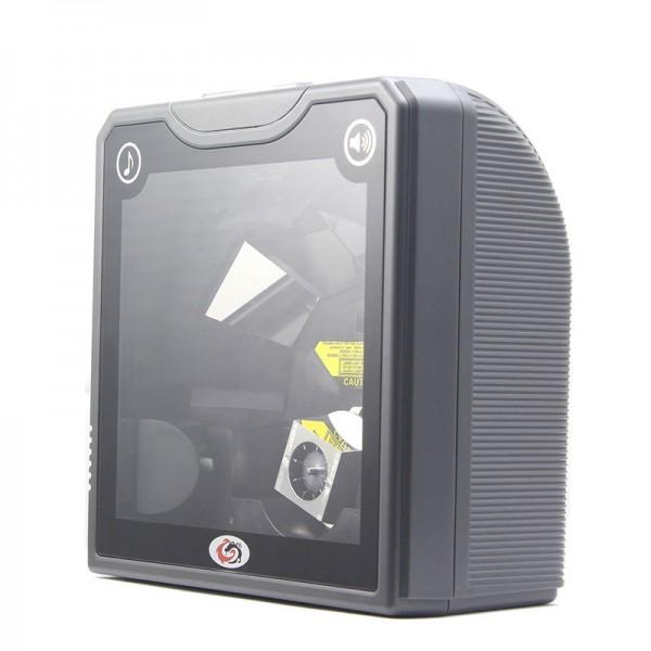 ბარკოდის სკანერი/Omnidirection Barcode Scanner(BS-2024) Black ,USB, Put inside Table