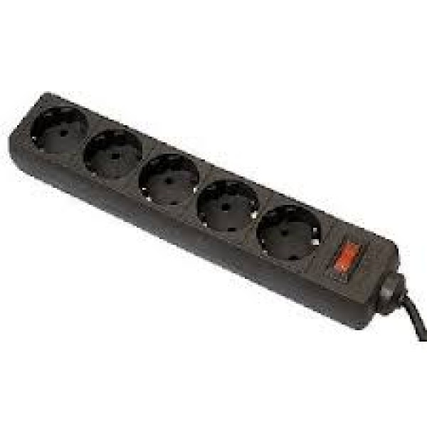 დენის ფილტრი 99484, DEFENDER ES 1.8m 5 Sockets Surge Protector, 10A