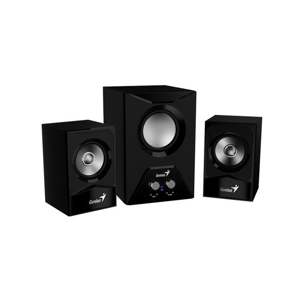 ხმამაღლამოლაპარაკე SW-2.1 385 Black, Genius, speaker with subwoofer 15W