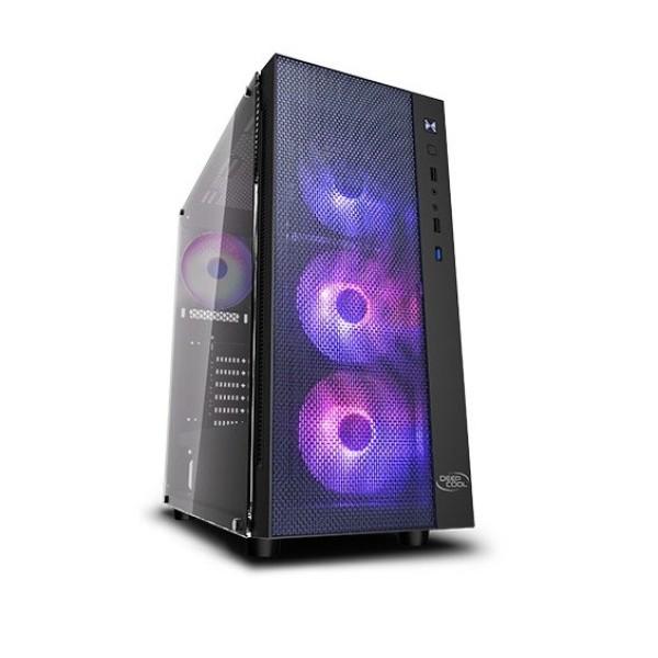 კომპიუტერის ყუთი MATREXX 55 MESH ,DEEPCOOL Mini-ITX/Micro-ATX/ATX/E-ATX,140mm×3/120mm×3,