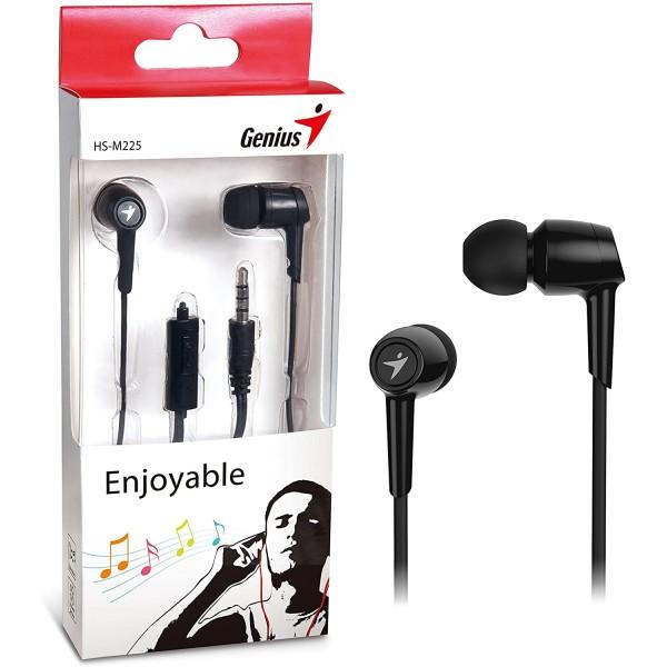 ყურსასმენი  HS-M225 Black, Genius, Mobile Headset