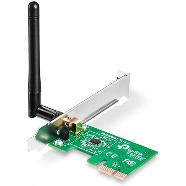 რადიო ქსელი  TL-WN781ND, Tp-Link, 150Mbps Wireless PCI Express Adapter  (WiFi)