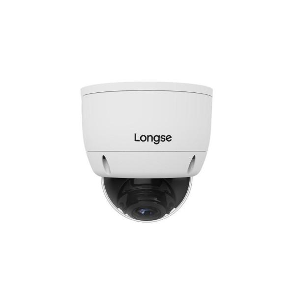 დომ კამერა LVDBHTC200ES PAL 1∕2.8 SONY 2.1MP Starvis Back-illuminated CMOS Sensor 1080P∕ 2.8-12mm Manual Zoom Lens Sand grain white(შიდა, გარე გამოყენების)