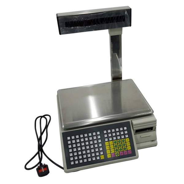 სასწორი Barcode Weight Scale€€(TM-Aa-15a) with software and manual (15KG) rocentech